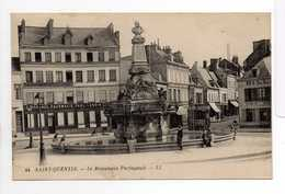 - CPA SAINT-QUENTIN (02) - Le Monument Paringault 1922 (GRANDE PHARMACIE PAUL LENOIR) - Editions Lévy N° 44 - - Saint Quentin