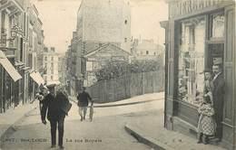 SAINT CLOUD - La Rue Royale,Mercerie Kohler. - Saint Cloud