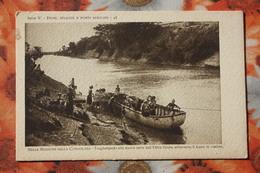 AFRICA MISSIONI   / Old Vintage Postcard  - Somalia Italiana - OLTRE Giuba - Somalia