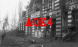 59 Nord FRELINGHIEN Chateau Nordfrankreich 1918 Occupation Allemande Lille Armentieres Houplines Lys Deule Abri - Frankreich