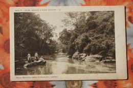 AFRICA MISSIONI  CONSOLATA / Old Vintage Postcard  -  Somalia Italiana / DOWN TO THE RIVER - Somalia
