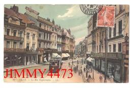 CPA - La Rue Esquermoise, Bien Animée En 1910 - LILLE 59 Nord - N° 80 - L L - Lille