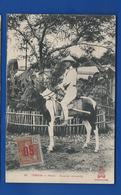 TONKIN    HANOI   Cavalier Annamite       Animées   écrite - Vietnam