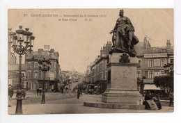 - CPA SAINT-QUENTIN (02) - Monument Du 8 Octobre 1870 Et Rue D'Isle 1903 (avec Personnages) - Edition P. D. N° 27 - - Saint Quentin