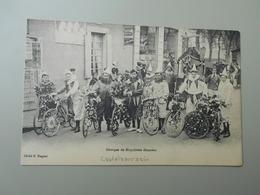 GROUPES DE BICYCLETTES DECOREES - France