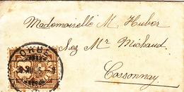 Trois Anciennes Lettres De 1906, 1907, 1910 / Orbe, St-Gallen, Lausanne / Crassier - Covers & Documents