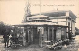 03-SAINT-PARDOUX- LA FONTAINE D'EAU MINERALE NOV 1916 - Francia