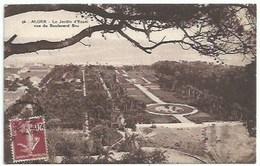 Algérie - Alger - Le Jardin D'Essai - Vue Du Boulevard Bru - Alger