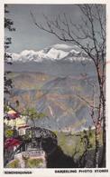 INDIA / NEPAL : KINCHENJUNGA / DARJEELING PHOTO STORES - CARTE VRAIE PHOTO / REAL PHOTO POSTCARD ~ 1950 - '55 (ab628) - Nepal