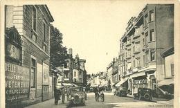 70 Cpa Vesoul Rue Carnot Voitures Ancienne Commerces Animation - Vesoul