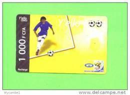 CONGO (BRAZZAVILLE)  - Remote Phonecard/Celtel Football - Congo