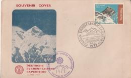 Nepal  1972  Deutsche Everest Lhotse Expedition Climbing  Cover  #   10284   D  Inde Indien - Climbing