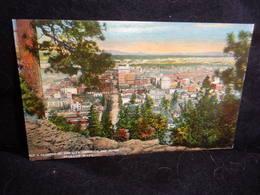 Etats - Unis .Washington. Spokane .The City  .Voir  2 Scans . - Spokane
