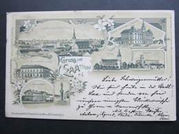 AK LAA Ad.Thaya Litho Schwidernoch 1900 ///  D*31231 - Laa An Der Thaya