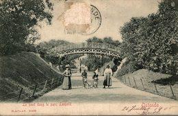 OSTENDE LE PONT DANS LE PARC LEOPOLD - Oostende
