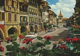 Morat - Grand - Rue. Switzerland. Sent To Denmark.  # 07428 - Switzerland