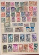 Italie - Vatican -San Marin  / Lot De Timbres / 2 Pages / Etats Divers - Collections