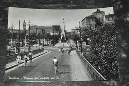 2040    Piacenza  Visione Dal Viadotto Sul Po   1959   Animato - Piacenza