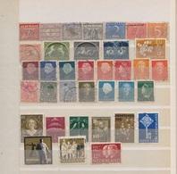 Hollande / Lot De Timbres / 1 Page / Etats Divers - Collections