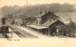 Tilleur (Saint-Nicolas). La Gare. - Saint-Nicolas