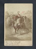 MILITARIA EMPIRE PHOTO  WILSON LONDON NAPOLÉON 4 MORT À 23 ANS EN 1879 GUERRE ANGLAIS CONTRE LES ZOULOUS ZOULOU - Army & War