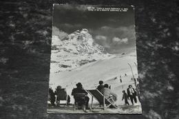 2041    Cervinia   Cervino  Campi Di Sci   1954   Animato - Altre Città