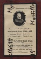 Faire-part De Décès - (1918) Memento Madame Breton Née Marie Abgrall - Avvisi Di Necrologio