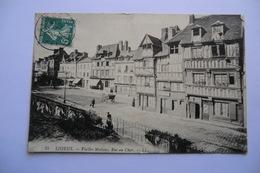 CPA 14 CALVADOS LISIEUX. Vieilles Maisons, Rue Au Char. - Lisieux