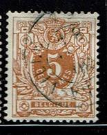 28  Obl  Villers La Ville  +8 - 1869-1888 Lying Lion