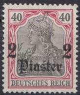 MiNr. 29, Gut Gezähnt, Falzrest * - Deutsche Post In Der Türkei