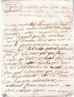 DES MAGNANS. 2 Pages Manuscrites Signées.fait à Argentan. 17 Janvier 1723.Lettre Envoyée à Monsieur Du Motté à Vignats. - Autographes
