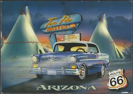 Route 66, Arizona, 2012 - Smith-Southwestern Postcard - United States