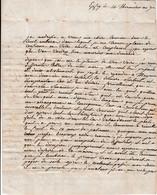 Thermidor An 7 - EPFIG (67) - L.A.S. SADOUL Et SPITZ à La Citoyenne NANCE Par ROUFFAC - Documenti Storici