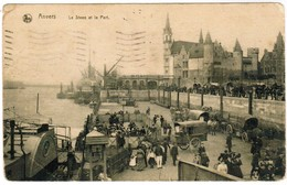 Antwerpen, Anvers, Le STeen Et Le Port (pk44316) - Antwerpen