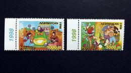 Aserbaidschan 438/9 **/mnh, EUROPA/CEPT 1998, Nationale Feste Und Feiertage - Azerbaïjan