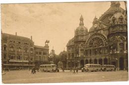 Antwerpen, Anvers, Jardin Zoologique, Place De La Gare Et Restaurant Du Paon Royal (pk44317) - Antwerpen