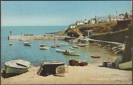 The Harbour, Portscatho, Cornwall, 1960s - Salmon Postcard - England