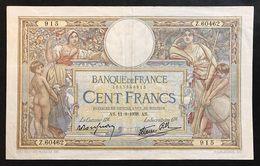 FRANCIA France 100 FRANCS 1938 LOTTO 965 - 1871-1952 Antichi Franchi Circolanti Nel XX Secolo