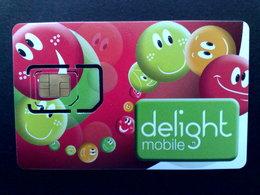 PHONECARD-GSM-SIM-DELIGHT-MOBILE-MINT-UNUSED - [2] Prepaid & Refill Cards