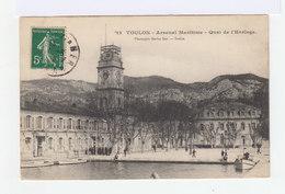 Toulon. Arsenal Maritime. Quai De L'horloge. (2667) - Toulon