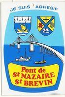44 SAINT  NAZAIRE -- ST  BREVIN       PONT  DE  ST  NAZAIRE  ST BREVIN - Saint Nazaire
