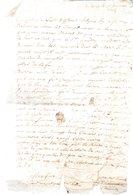 DU CHEMIN .1 Page Manuscrite Signée.De Falaise 21 Décembre 1694.lettre à Mr. Du Motté,chez Barreau Marchand à Nantes - Autographes