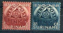 SURINAM (  POSTE ) :  Y&T  N°  269/270  TIMBRES  NEUFS  SANS  TRACE  DE  CHARNIERE , ROUSSEUR , A  VOIR . - Surinam