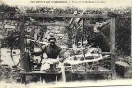 Mortagne Tisserand Et Devideuse à La Main RV Adeca Neudin Tirage Limité à 1000 Timbre 1F40 - Mortagne Au Perche