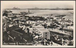 British Warships In Harbour, Gibraltar, C.1950 - Rex RP Postcard - Gibraltar