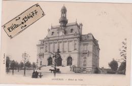 92 Asnières - Cpa / Hôtel De Ville. - Asnieres Sur Seine