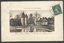 Pièce D'Eau Et Château Du Souchey Près Laigle - La Normandie Pittoresque - Voir 2 Scans - Frankreich
