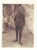 Photo Ancienne Soldat Debout, écrit Au Verso Marseille 1921 - Guerre, Militaire