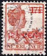 INDIE OLANDESI, NETHERLANDS INDIES, REG. GUGLIELMINA, 1921, FRANCOBOLLI USATI Michel 132   Scott 144 - Niederländisch-Indien