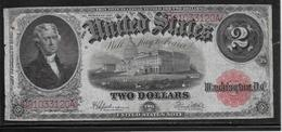 Etats Unis - 2 Dollars 1917 - Pick N°188 - TTB - Large Size - Grande Taille (...-1928)